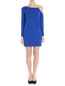 Versace Collection - Electric blue dress with golden strap