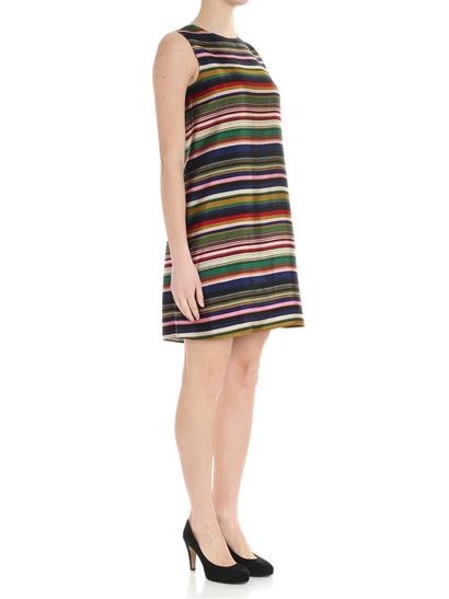 Multicolor striped dress Aspesi