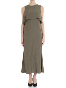 Caractère - Army green dress with frill