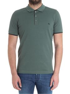 Fay - Army green polo shirt