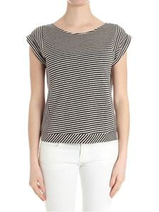 Caractère - Striped linen and cotton top
