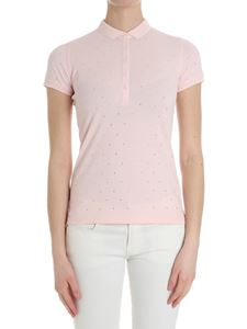 Sun 68 - Pink polo with rhinestones