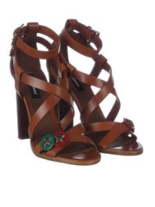 Dsquared2 - Brown Safari Chic sandals