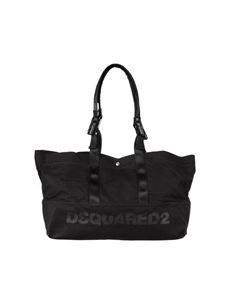 Dsquared2 - Black shopping bag with logo