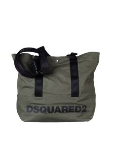 Dsquared2 - Army green bag with logo
