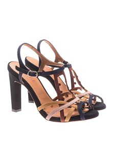 Chie Mihara - Multicolor leather sandals