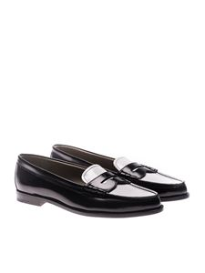 Church's - Black leather loafers
