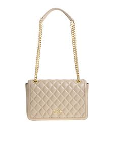 Love Moschino - Taupe quilted shoulder bag