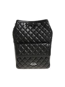 Love Moschino - Black quilted backpack