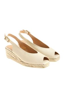 Castaner - Cream color Dosalia sandals