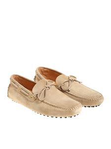 Car Shoe - Sand-colored loafers