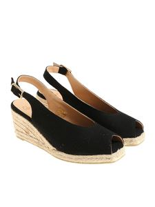 Castaner - Black Dosalia sandals