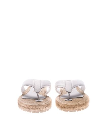 White Hisopo sandals Paloma Barceló Outlet Best Low Price Fee Shipping PAqKM