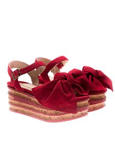 Paloma Barceló - Red Rose Sandals