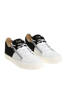 Giuseppe Zanotti - Black and white May Lond sneakers