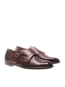 DOUCAL'S - Brown Monk Strap shoes