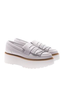 Hogan - White leather H355 shoes