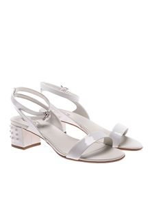 Tod's - White T50 sandals