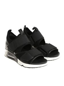 Ash - Black Lunatic sandals