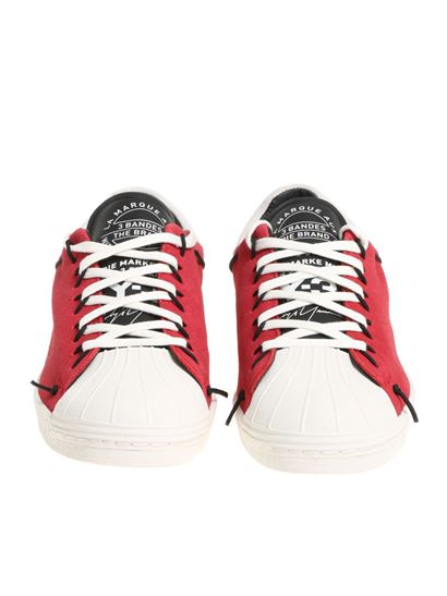 White and red Super Knot sneakers Yohji Yamamoto HLgRqp11