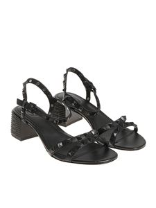 Ash - Black Rush bis sandals