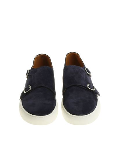 Blue Monk Strap shoes Doucal's Cheap Manchester Cheap 100% Authentic Fashionable XvULqsYwP