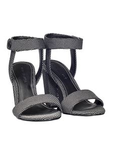 KENDALL + KYLIE - Black and white Rowan sandals