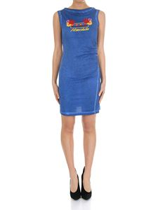 Dsquared2 - Blue dress with Honolulu print