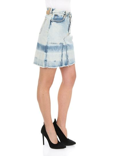 Discount Eastbay Clearance With Credit Card Light-blue Lina 80s wash skirt Golden Goose New Styles Fast Delivery Online Aaa Quality KIALd8