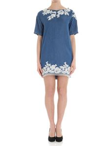 Ermanno by Ermanno Scervino - Denim dress with lace