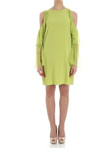 KI6? Who are you? - Green dress with ruffles