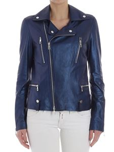 Desa 1972 - Blue leather jacket