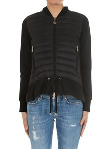 Moncler - Black padded cardigan