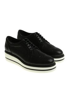 Hogan - Black H323 Derby shoes