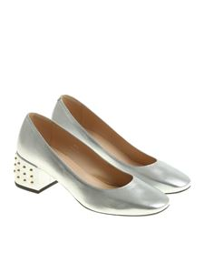 Tod's - Silver studded shoes
