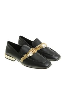Ash - Black Edgy loafers