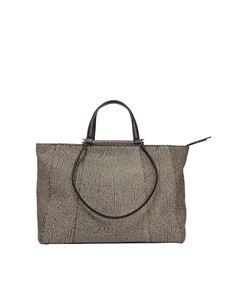 Borbonese - Brown Large Shopping bag