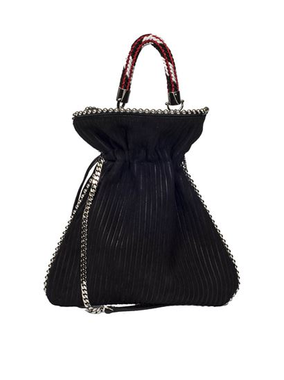 Black Big Trilly shoulder bag Les Petits Joueurs Real Cheap Online iNlQwBhC