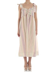 See by Chloé - Multicolor striped dress