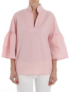 Fuzzi - Pink cotton blouse