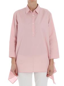 Fuzzi - Pink flared shirt
