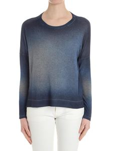 Avant Toi - Shaded blue cashmere sweater