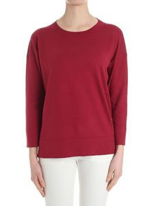 massimo alba - Raspberry color sweater