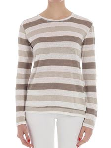 massimo alba - White striped sweater