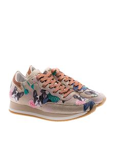 Philippe Model - Etoile sneakers with Bulldog embroideries