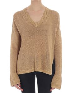 360 Sweater - Camel color Noelle sweater