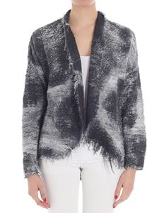 Avant Toi - Black and gray knitted jacket