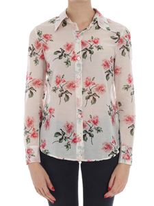 massimo alba - Cream color Rose shirt