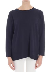 massimo alba - Dark blue sweater