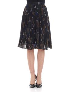 PS by Paul Smith - Camouflage pleated skirt